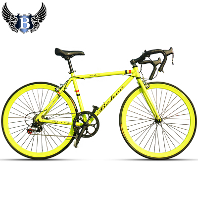 Bach 700C road bike road racing Shimano 7-speed road bike lightweight aluminum frame