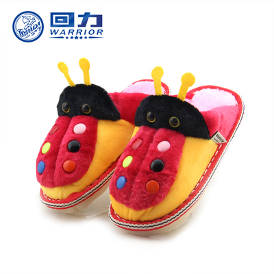 New Warrior cartoon cute boys and girls children cotton slippers warm home skid cotton trailer home interior floor