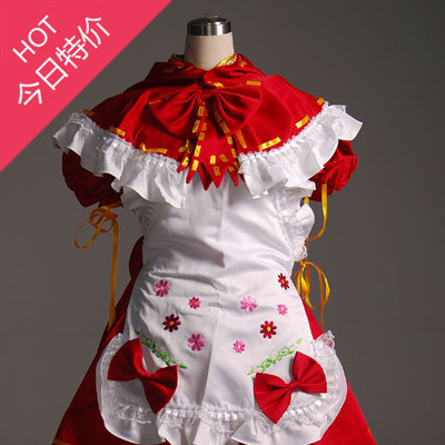 Masters Hatsune Miku / Hatsune ミ ku / MIKU PROJECT Little Red Riding Hood cos clothing custom-made