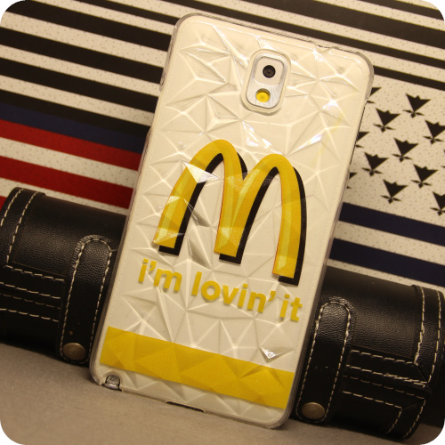 3-Star note 3 mobile phone shell S 5.9600 Kit 3 star note 2 housing S 4 case McDonald's diamond-