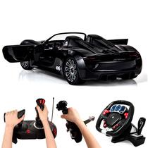 美致保时捷918遥控车方向盘重力感应充电动儿童玩具汽车男孩礼物