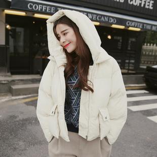 2015冬装韩国大东门女大码宽松面包服棉衣棉服短外套带帽