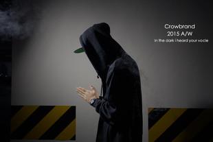 诚意之作!Crowbrand 2015 A/W 救世主拉链卫衣外套 原创 潮