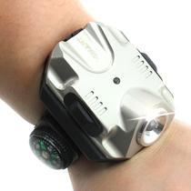 睿光户外强光手电筒夜骑行手腕灯移动手表形腕带灯戴手腕灯钓鱼灯