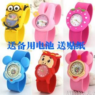 儿童小朋友拍拍手表啪啪圈小童女童2-4岁3女孩男孩幼儿宝宝玩具表