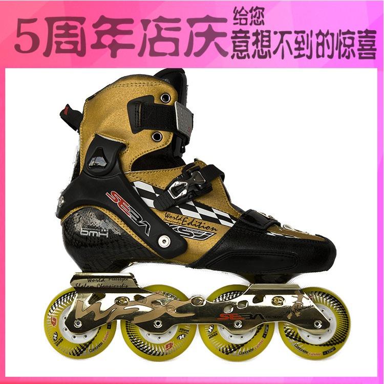 专业平花轮滑鞋_SEBA ksj轮滑鞋KSJ2.0轮滑鞋专业平花鞋碳纤维轮滑鞋欧版KSJ溜冰