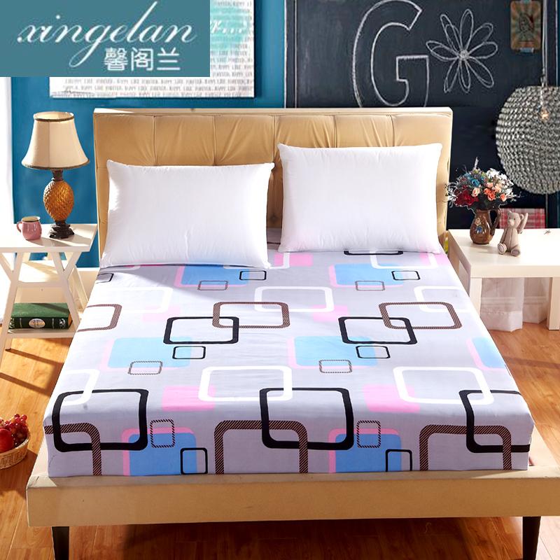 床笠席梦思床罩保护套防尘罩床垫罩单件床套1.5/1.8m床 防滑床单