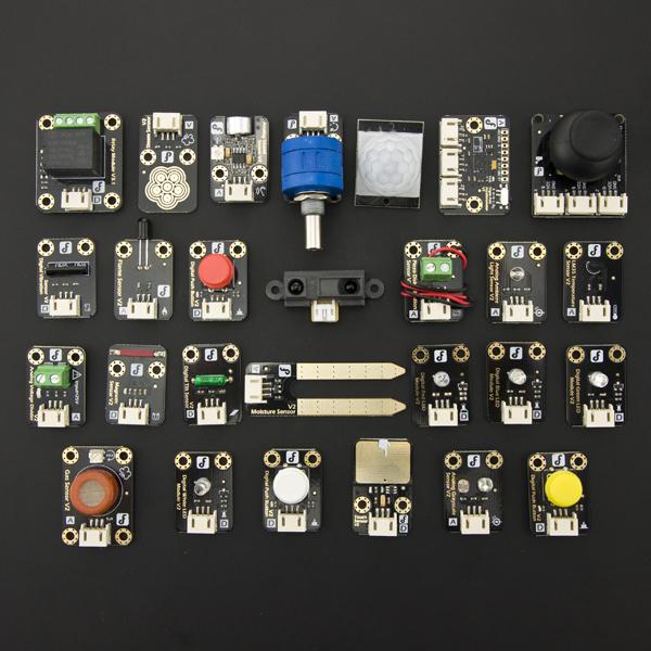 DFRobot Arduino传感器套件 入门套装(27种) 即插即用 创客