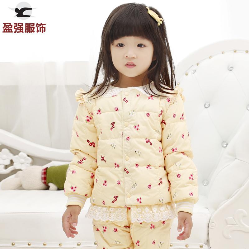 婴儿衣服冬季厚棉服女宝宝棉衣儿童棉衣内胆1-2-3-4岁女童小棉袄