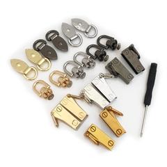 包包扣环配件金属扣环 添加斜跨包带吊耳 改造包包五金零件螺丝扣