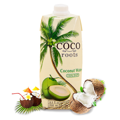 COCO roots  淳越原味椰子水 500ml/盒 越南进口