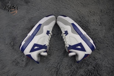 宥昔体育Air Jordan 4DeepRoyal Blue AJ4皇家蓝 白蓝 487724-132