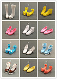 Genuine can children doll blythe official shoe peaches small cloth can ob shoes