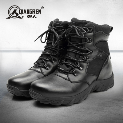 Strongman new winter boots cotton wool leather boots warm winter boots outdoor boots male boots male boots combat boots