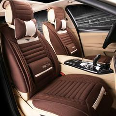 汽车坐垫四季通用全包座垫夏专用上汽大众斯柯达速派Yeti昊锐