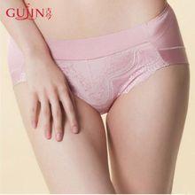 古今/GUJIN女性感蕾丝内裤 中腰三角裤1D893图片
