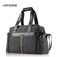 Joydone/jing dong men travel bag canvas bags single shoulder bag mass leisure oblique satchel youth fashion