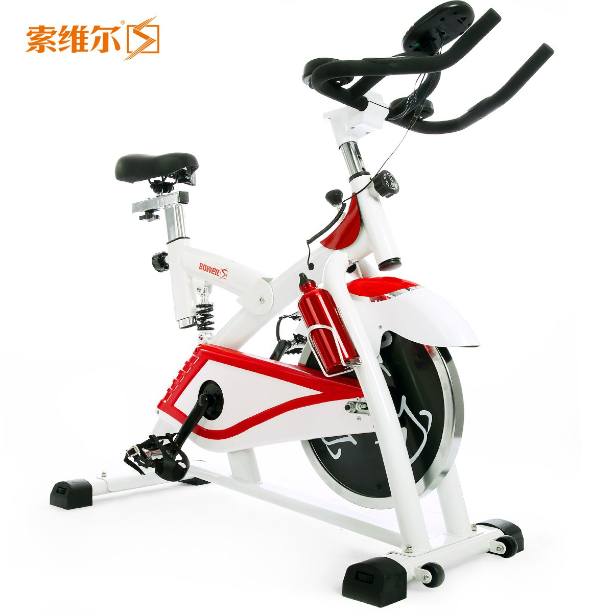 in the spinning Indoor fitness bicycle mute home fitness equipment bicycle fitness car