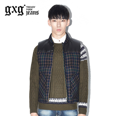 gxg.1978 new winter 2014 men's fashion trend of men down vest # 34611050