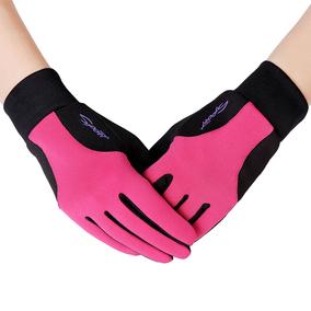 户外保暖跑步手套男女运动全指冬季单车骑行薄款钓鱼防滑防风触屏