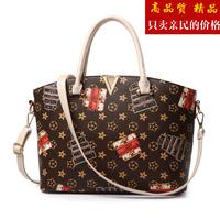 包包新款2016潮时尚女式手提包简约单肩斜挎包潮流贝壳包精品