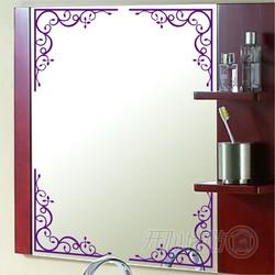 欧式窗花贴 开心墙贴边框花边镜子玻璃茶几装饰贴图片