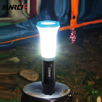 SUNREE shipping C5 flashlight style wrestlers mountain camp lights portable high power LED Emergency Light CREE R3
