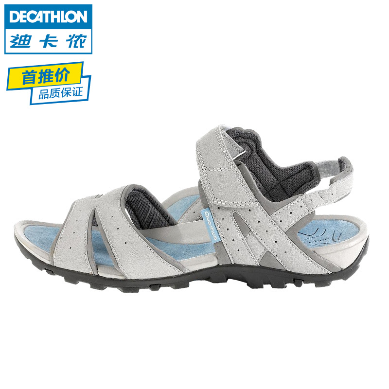 Decathlon outdoor light hiking sandals women sandals New QUECHUA. Loading  zoom