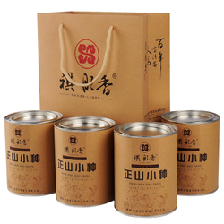 [新年价] 祺彤香茶叶 正山小种红茶 武夷山桐木关散装特级红茶500g礼盒装