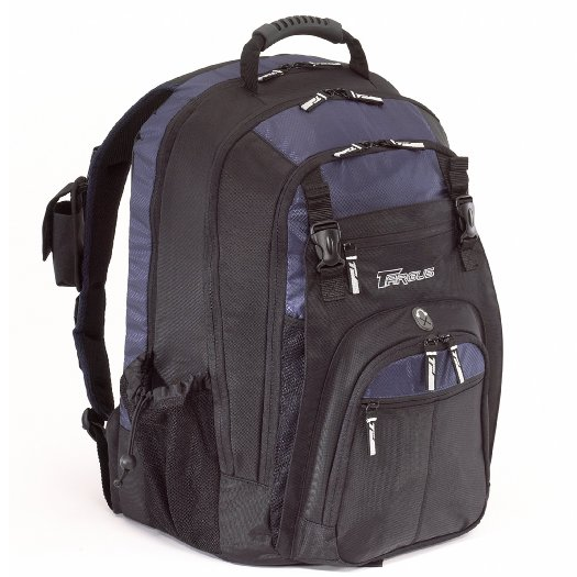 Targus Backpack TXL617 Black with Blue Accents 17寸电脑包