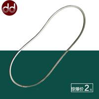 电动缝纫机配件 平车三角皮带 锁边机 平缝机白皮带 电机传动皮带