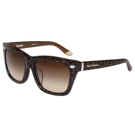 台湾直邮进口Juicy Couture 豹纹个性粗版 太阳眼镜 ( 豹纹 )商品大图