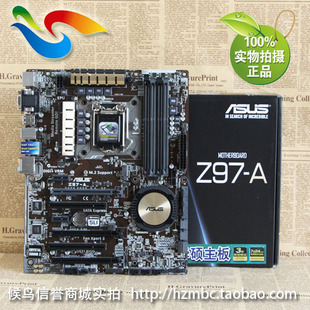 Asus ASUS Z97-A Deluxe large Z97 8 CPU the motherboard supports SLI power supply mix