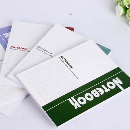 软抄本记事本软面抄笔记本文具学生练习作业本本子商务
