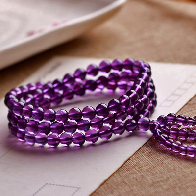 Need natural amethyst beads bracelet natural amethyst beads bracelets 108 female models