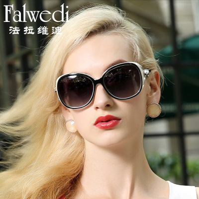 2014 new authentic sunglasses female star models Ms. polarized sunglasses retro sunglasses influx of people in Europe and America
