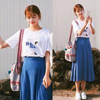 连衣裙套装女夏2016新款气质名媛小香风时尚休闲夏装两件套女装潮