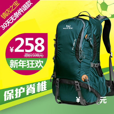 Di Wildview outdoor backpack for men and women mountaineering bags 40L Backpack Travel ultralight genuine