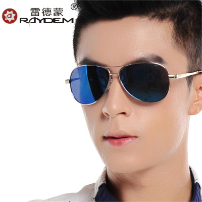Genuine polarized sunglasses for men and women Colorful yurt influx of people driving mirror sunglasses sunglasses lens reflex driver