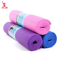 正品瑜伽垫初学加厚防滑健身瑜珈垫子瑜伽地毯6-8mm多功能瑜伽垫