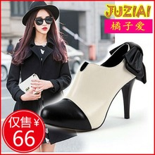 New fashion sexy fine in Europe and America and England in the fall and winter waterproof platform high heels boots naked female boots boots female