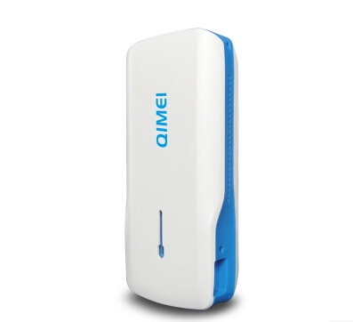 QM-D80 5200mAh mobile power wireless router 3G wireless hotspot AP multimedia sharing
