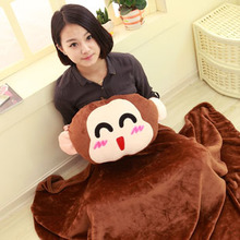 Multifunctional pillow triad Pillow, quilt pillow blanket office of dual-use air conditioning carpet nap blanket