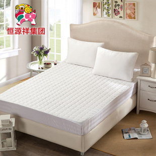 恒源祥彩羊家纺床笠式保护垫床套1.5m1.8米床学生榻榻米床垫床褥