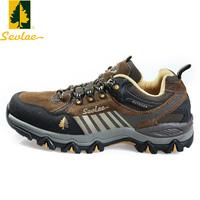 圣弗莱男士户外登山鞋真皮徒步鞋防滑耐磨男鞋减震透气运动休闲鞋