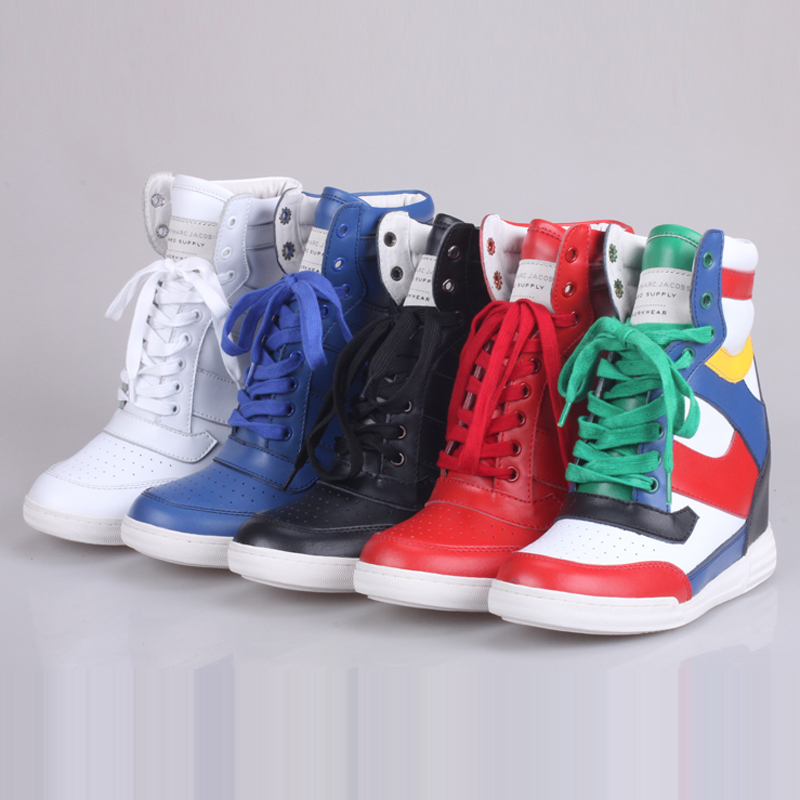 Star models within Joke Marc by m * jacobs increased high-top sneakers casual shoes tide SHOES