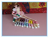 blythe small cloth can be children peaches MOMOKO Rieger AZONE tanggo doll canvas sneakers