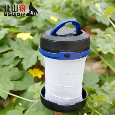 Kitayama wolf outdoor retractable tent camp lights compression flashlight camping lamp light Lantern lantern hanging lamp