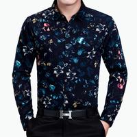 2016长袖衬衫男 秋季中年商务 韩版潮流