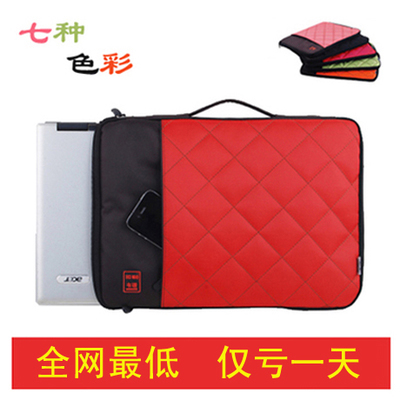Free shipping IPAD2 Apple laptop bag liner thicker 14-inch 15.6-inch 13.3-inch portable laptop computer bag